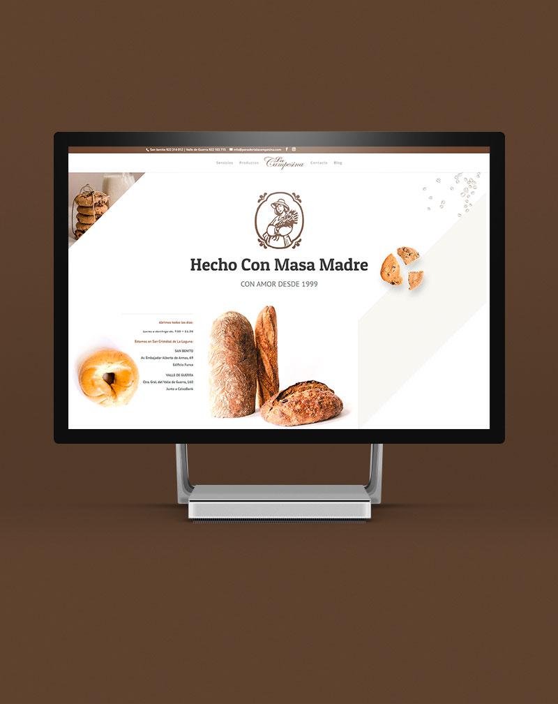 Agencia DF Web. Panadería La Campesina